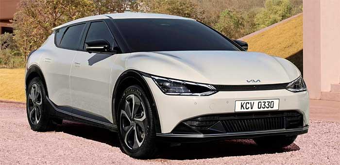 Компания Kia показала кросс-хэтчбек Kia EV6